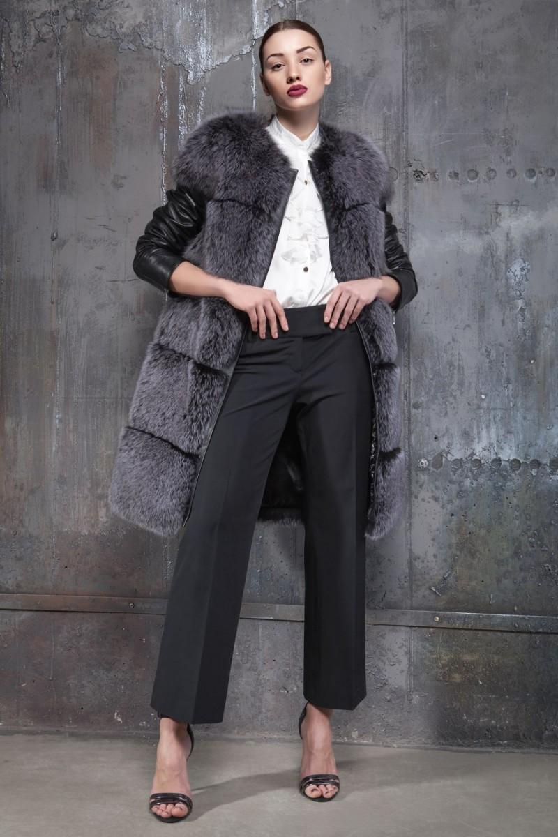 13375634569 Купить Меховое пальто из финского песца - Киев