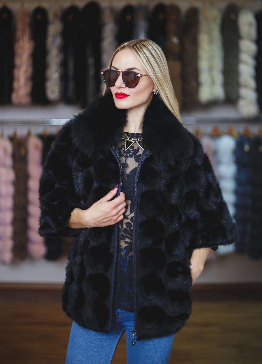 купить болеро из вязаной норки киев одесса харьков днепр